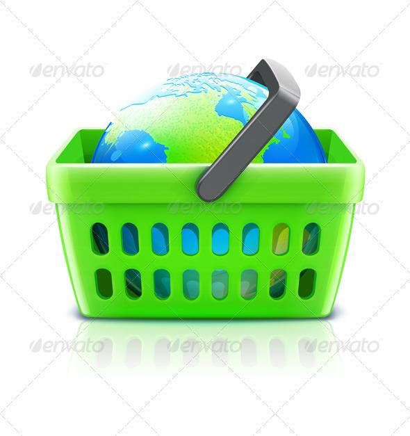 Global shopping  concept  - Commercial / Shopping Conceptual