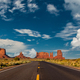 Empty scenic highway in Monument Valley - PhotoDune Item for Sale