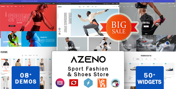 Zeno - Shoes Store & Sports Fashion Shop