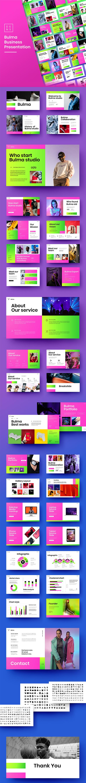 Bulma – Business Google Slides Template