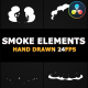 2D FX SMOKE Elements | DaVinci Resolve - VideoHive Item for Sale