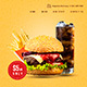 Burger House - Fast Food & Restaurant One Page HTML Template