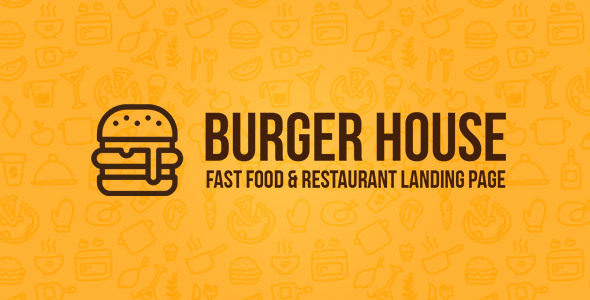 Incredible Burger House - Fast Food & Restaurant One Page HTML Template