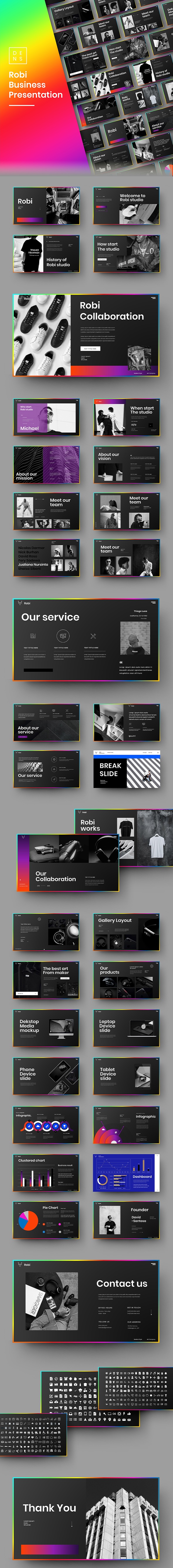 Robi – Business PowerPoint Template