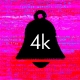 4k Bell Glitch Transition - VideoHive Item for Sale