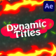 Dynanic Cartoon Titles | After Effects - VideoHive Item for Sale
