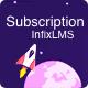Subscription - InfixLMS Module
