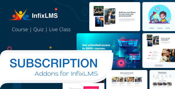 Subscription - InfixLMS Module