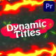 Dynanic Cartoon Titles | Premiere Pro MOGRT - VideoHive Item for Sale