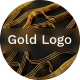 Gold Lines Logo - VideoHive Item for Sale