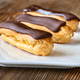 Eclairs with chocolate topping - PhotoDune Item for Sale