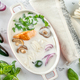 Thai coconut salmon soup - PhotoDune Item for Sale