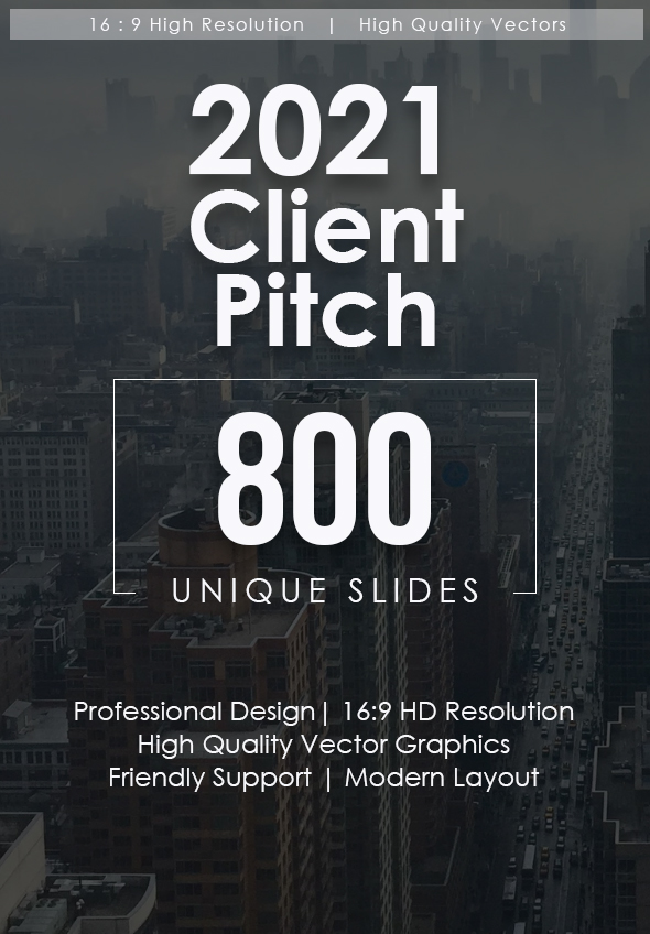 2021 Client Pitch Google Slides Bundle
