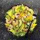 Shrimps, Mango and Avocado Salad with Walnut, Spinach and Arugula - PhotoDune Item for Sale