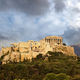 Athens, Greece, Acropolis hill, cloudy sky background - PhotoDune Item for Sale