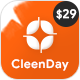 CleenDay - Cleaning Company WordPress Theme