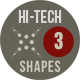 Photoshop Hi-Tech Shapes 3 - GraphicRiver Item for Sale