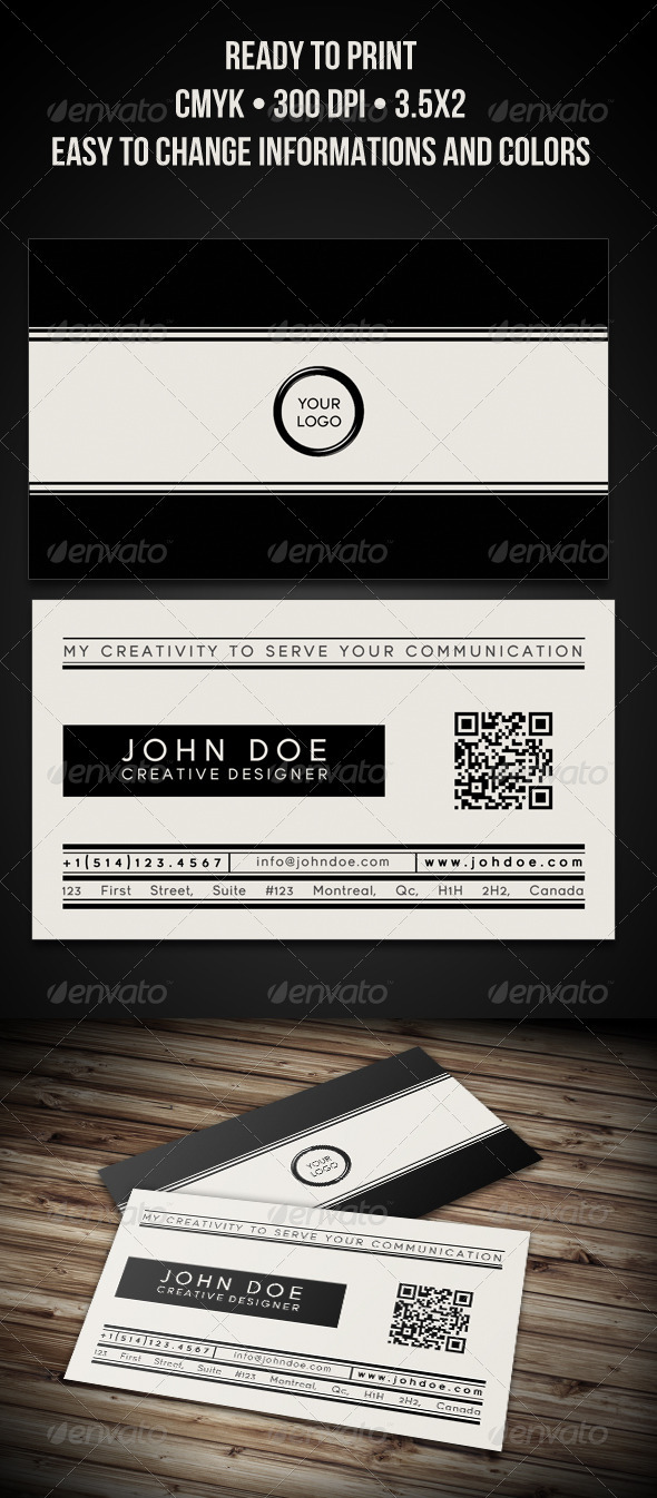 Modern and Classy Business Card - Creative Business Cards