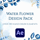 Watercolor Flower Design Pack - VideoHive Item for Sale