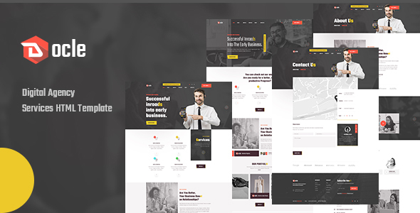 Docle - Agency Services HTML Template