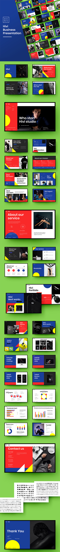 Hivi – Business Google Slides Template