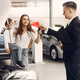 Stylish and elegant woman in a car salon - PhotoDune Item for Sale