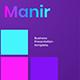 Manir – Business PowerPoint Template