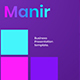 Manir – Business Google Slides Template