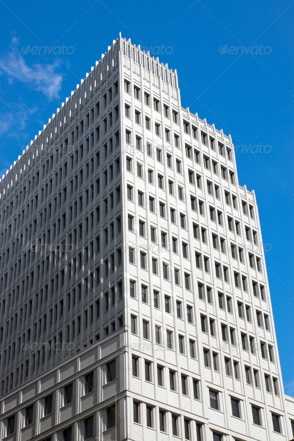 Skyscraper in Berlin - Stock Photo - Images