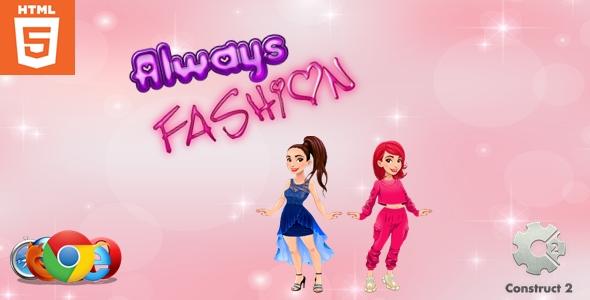 Always Fashion - Dress up game - HTML5