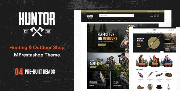 Leo Huntor - Hunting & Outdoor Gear Store Prestashop Theme