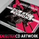 Dubstep Mixtape CD Artwork PSD Template