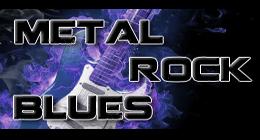 Metal, Rock, Blues
