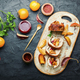 Meatloaf with persimmon on plate - PhotoDune Item for Sale