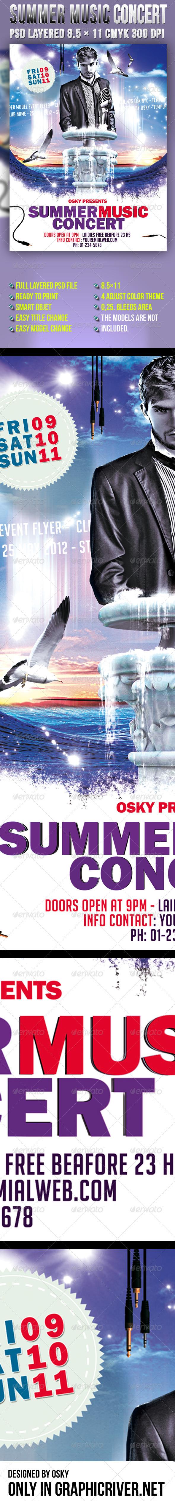 Summer Music Concert - Clubs & Parties Events