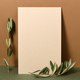 Blank paper with olive branches - PhotoDune Item for Sale