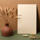 Blank paper with dry branches - PhotoDune Item for Sale