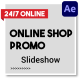 Online Shop Promo Slideshow | After Effects - VideoHive Item for Sale