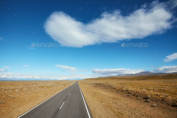 Patagonia Drive - Stock Photo - Images