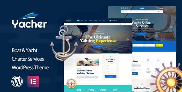 Special Yacher - Yacht Charter Services WordPress Theme