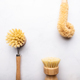 Bamboo Kitchen Scrub Brush Set of 3 - PhotoDune Item for Sale