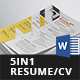 Resume/CV Bundle - 5in1