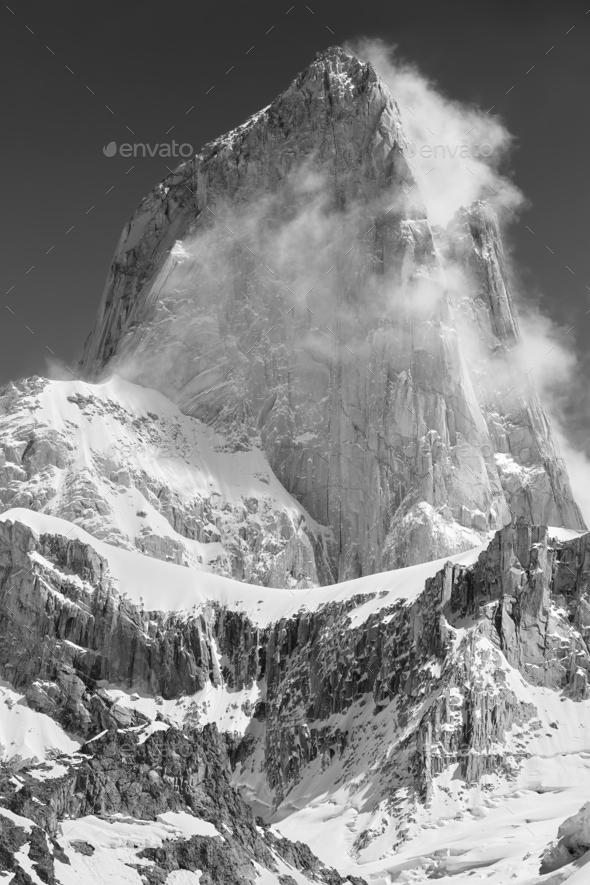 Fitz Roy peak - Stock Photo - Images