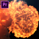 Fire Explosion Logo Reveal- Premiere Pro - VideoHive Item for Sale