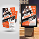 Boxing School Flyer with Poster Bundle