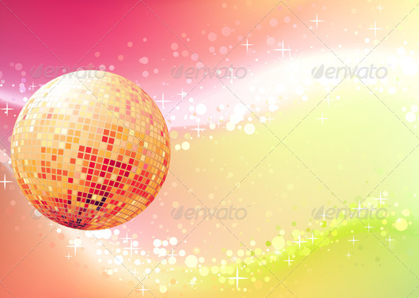Abstract party background - Backgrounds Decorative