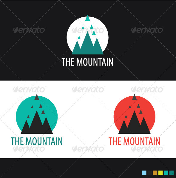 The Mountain - Nature Logo Templates