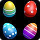 Isolated Easter Eggs Pack - 8 clips - VideoHive Item for Sale