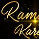 Ramadan Kareem and Eid Mubarak - Golden Greetings Text - VideoHive Item for Sale