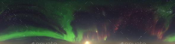 Northern Lights HDRI